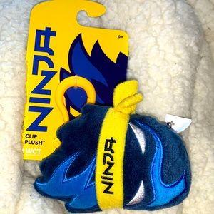 Ninja clip plushy